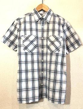 UNITED ARROWS■シャツ■チェック■ユナイテッドアローズ■白紺