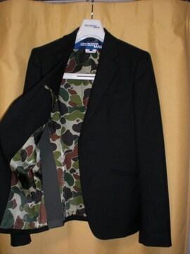10AWジュンヤワタナベマンコムデギャルソン裏迷彩ショートジャケット黒