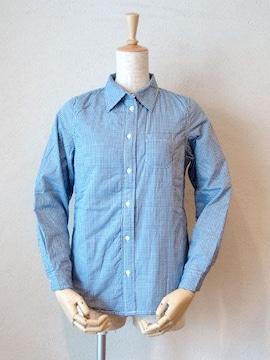 fabrique en planete terre中綿入りギンガムチェックシャツ