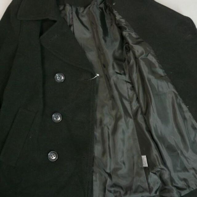定番スタイル★トラッドコート★黒【新品★M】k < 女性ファッションの