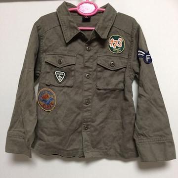 送料込み☆ キッズ ミリタリーシャツ 110