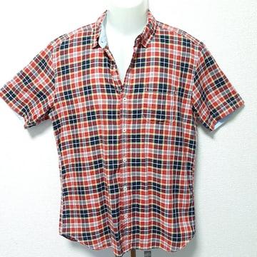 TAKEO KIKUCHI タケオキクチ 半袖 シャツ メンズ  チェック