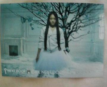 〓a-nation'09アーティストカードGIRL NEXT DOOR�C