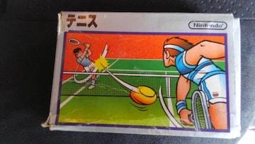 ファミコンソフト テニス 箱付き