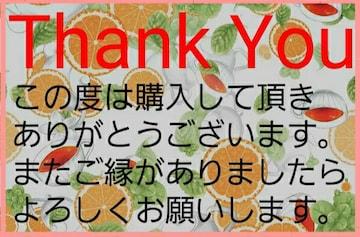 送料込み価格 Thank Youシール C-8 5シート