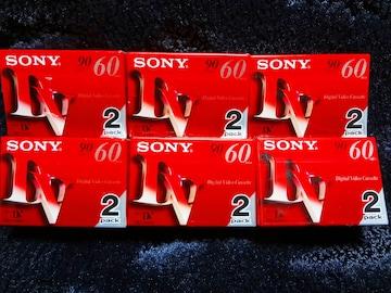 SONY デジタルビデオカセット DVM60 2パックx6セット=12枚