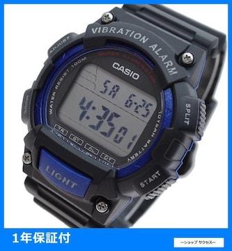 新品 即買 カシオ 腕時計 メンズ W-736H-2AV ブラック//00033964