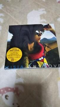 新品『ANY LOVE』 [限定版+DVD][CDシングル]MISIA