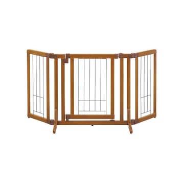 リッチェル ペット用 木製おくだけドア付ゲート S