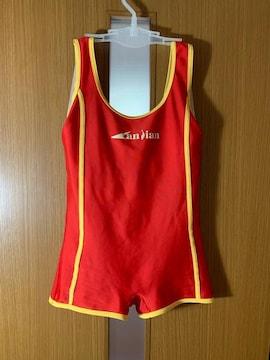中国製 ミドルスパッツタイプ 女子練習用 競泳水着