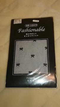 新品・未使用ストッキング リボン柄