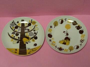 非売品 ディズニーストア ファンタミリア プー お皿セット