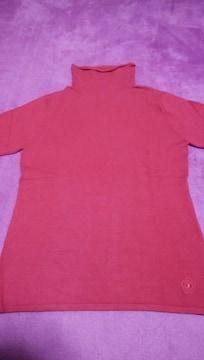 新品 CLATHAS  クレイサス トップス 半袖 赤