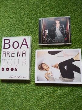 ☆BoA☆BEST OF SOUL★IDENTITY★copy & paste★CD+DVD♪