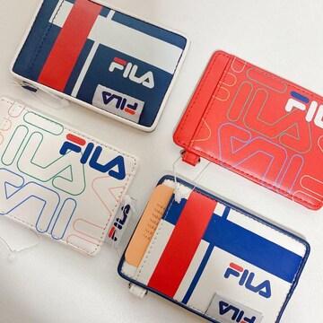 新品 FILA フィラ 定期ケース カードケース