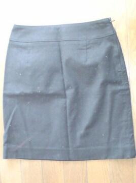 新品*RF*アールエフ*ブラックセミロングタイトスカート*黒