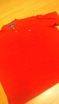 AMERICAN−LIVING 鷲 刺繍 カノコ半袖赤RED サイズXXL→3XL位
