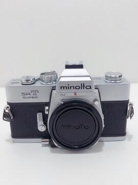 Z152 MINOLTA ミノルタ SRT SUPER フイルムカメラ ボディ 現状品