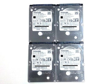 ★ハードディスク 東芝 MQ01ABF050 500GB SATA 4個セット