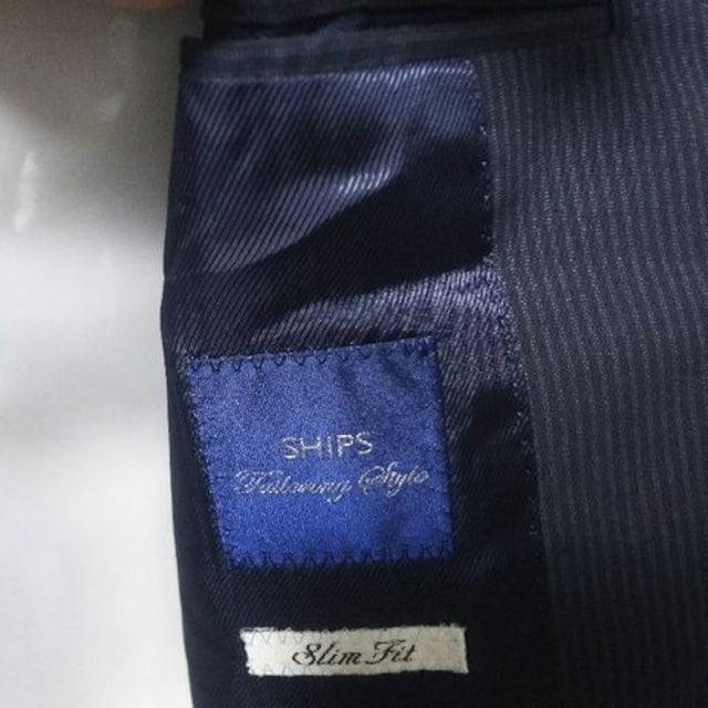 美品 SHIPS シップス スーツ上下  セットアップ < ブランドの