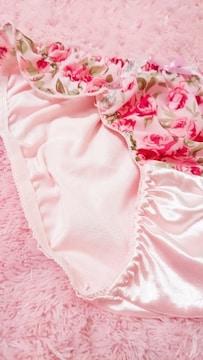 ☆.。.*ぉ気に入り pink 花柄つるてろ〜ン ぱんてぃ*.。.☆