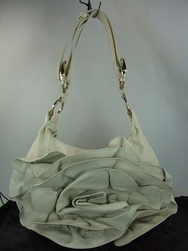 超美イヴ・サンローラン レザーバッグ ホワイト