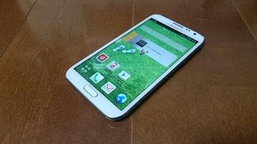 即落/即発!!中古品 SC-02E Galaxy Note 2 ホワイト