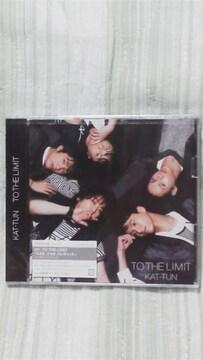 激安KAT-TUNTO THE LIMIT初回限定盤(DVD付)未開封オマケ