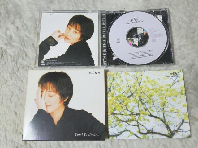 初回限定CD 谷村有美 with2 ベスト 全14曲 '94/8  < タレントグッズの