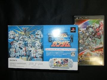 新古品 PSP3000本体GvsGver・ガンダムGジェネオーバーワールド