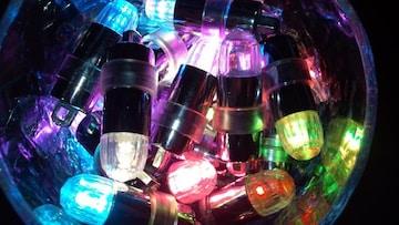 ☆ LED* イルミネーション☆  専用電池30個付き◆color:ホワイト色
