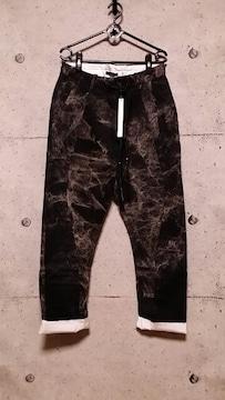 新品KMRIIケムリ Layered Twill Stretch Pants 2 BLACKKHAKI