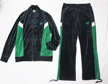 ナイキ*NIKE★ベロアトラックジャケット(XL)とパンツ(L)/新品