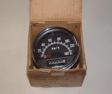 カワサキ C1 C1D 120cc スピードメーター 絶版新品