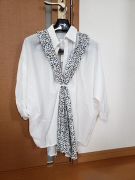 ¥9,790 S.J.FERRY スカーフ付き シャツ ブラウス ドルマンか