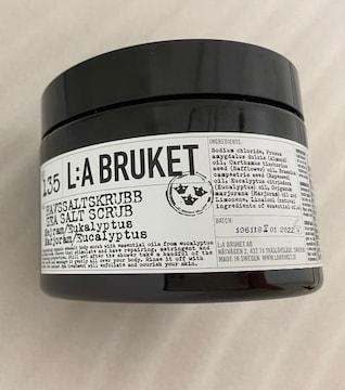 未使用 ラ・ブルケット ボディスクラブ洗浄料 135 シーソルト
