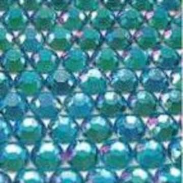 ● 4mm ● デコ用ストーン  2000粒 ライトブルー