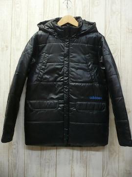 即決☆アディダス 特価 防寒 中綿 コート BLK/L 防寒 送料500円
