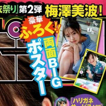 梅澤美波(乃木坂46)両面BIGポスター