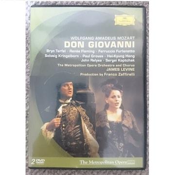 KF  モーツァルト  歌劇《ドン・ジョヴァンニ》 全曲 2DVD