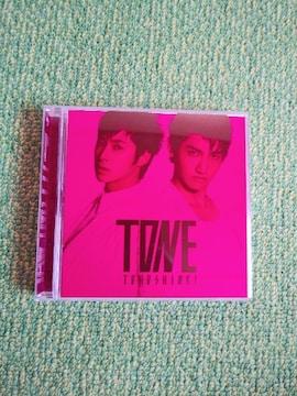 ☆東方神起☆TONE★CD+DVD(初回限定盤)♪