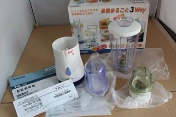 未使用TESCOMミル&ミキサー/ジューサー/お茶粉末
