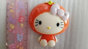 ☆BIGパーツ☆オレンジキティ☆