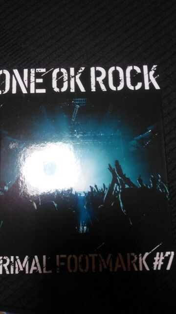 ONE OK ROCK PRIMAL FOOTMARK #7  < タレントグッズの